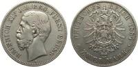 2 Mark Reuss jüngere Linie 1884 A Kaiserre...