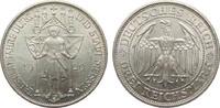 3 Mark Meissen 1929 E Weimarer Republik  v...