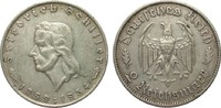 2 Mark Schiller 1934 F Drittes Reich  kl. ...