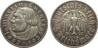 5 Mark Luther 1933 A Drittes Reich  sehr s...
