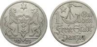 1 Gulden Danzig 1923 Kolonien und Nebengeb...