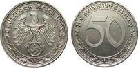 50 Pfennig 1939 A Drittes Reich  vorzüglich