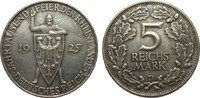5 Mark Rheinlande 1925 D Weimarer Republik...