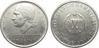 5 Mark Lessing 1929 A Weimarer Republik  b...