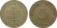 5 Pfennig 1967 G Bundesrepublik Deutschlan...