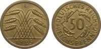 50 Reichspfennig 1925 E Weimarer Republik ...