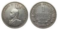 1 Rupie 1910 J Kolonien und Nebengebiete  ...