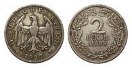 2 Mark 1927 F Weimarer Republik  mehrere k...