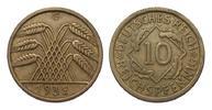 10 Pfennig 1932 G Weimarer Republik  besse...