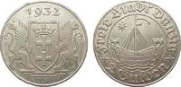 2 Gulden Danzig 1932 Kolonien und Nebengebiete  min. Rf., fast vorzügli... 535,00 EUR free shipping