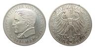 5 DM Eichendorff 1957 J Bundesrepublik Deu...