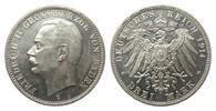 3 Mark Baden 1914 G Kaiserreich  wz. Rf., ...