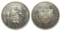 3 Mark Vogelweide 1930 D Weimarer Republik  wz. Haarlinien, polierte Pl... 325,00 EUR free shipping