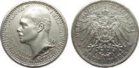 3 Mark Hessen 1917 A Kaiserreich  min. Randfehler, fast Stempelglanz  4950,00 EUR free shipping