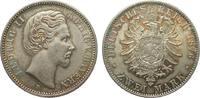 2 Mark Bayern 1876 D Kaiserreich  gutes vorzüglich  345,00 EUR free shipping