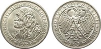 3 Mark Dürer 1928 D Weimarer Republik  kl. Kratzer, vorzüglich / Stempe... 385,00 EUR free shipping