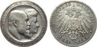 3 Mark Württemberg Silberhochzeit 1911 F Kaiserreich  l. berieben, vz+ ... 450,00 EUR free shipping