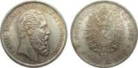 5 Mark Württemberg 1876 F Kaiserreich  wz....