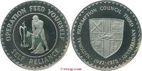 Silbermedaille 1975 Ghana Ghana  Republic ...