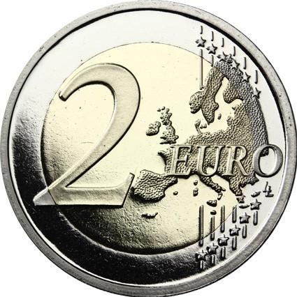 2 euro 2017 frankreich kampf gegen brustkrebs 25 jubil um ruban rose 1992 2017 proof. Black Bedroom Furniture Sets. Home Design Ideas