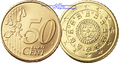 2002 50 cent unc coin