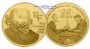 Frankreich 20 Euro, 15,64g fein 31 mm Ø 100. Todestag Paul Cezanne 1/2 oz. inkl. Etui & Zertifikat & Schuber