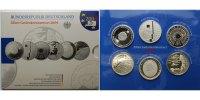 10 Euro x6 2004 D Deutschland Silbergedenkmünzen-Set 2004 mit Fußball, ... 165,00 EUR  + 17,00 EUR frais d'envoi