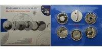 10 Euro x6 2004 F Deutschland Silbergedenkmünzen-Set 2004 mit Fußball, ... 185.36 US$ 165,00 EUR  +  39.32 US$ shipping
