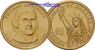 1 $ 2007 P USA Thomas Jefferson 2007 Philadelphia / Kupfer-Nickel / Neu... 3.93 US$ 3,50 EUR  +  12.36 US$ shipping