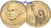 1 $ 2007 P USA George Washington 2007 Philadelphia / Kupfer-Nickel / Ne... 3.93 US$ 3,50 EUR  +  12.36 US$ shipping