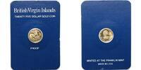 25 Dollar, 0,75g fein, 13mm Ø 1981 Britische Jungferninseln 25-Dollar-G... 79,00 EUR  +  17,00 EUR shipping