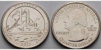 1/4 $ 2011 P USA Vicksburg /P - Kupfer-Nickel - vz  137 руб 2,00 EUR  +  753 руб shipping