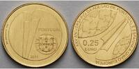 1/4 Euro 1, 56g fein 14 mm Ø 2011 Portugal EU-Beitritt inkl. Kapsel & Z... 125,00 EUR  +  17,00 EUR shipping