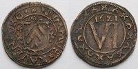 6 Pfennig 1621 Ravensberg-Grafschaft Brandenburgische Regierung 1614-16... 89,00 EUR  +  17,00 EUR shipping