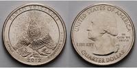 1/4 $ 2012 P USA Hawai'i Volcanoes /P - Kupfer-Nickel - vz  2,00 EUR  +  7,00 EUR shipping