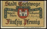 50 Pfg.  Eschwege, Hessen Stadt I  1,30 EUR  +  7,00 EUR shipping