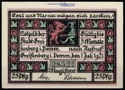 25 Pfg.  Greifenberg, Pom. Grabowski 467.1 I-  8,20 EUR  +  7,00 EUR shipping