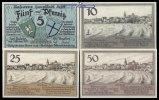 5,10,25,50 Pfg.,  Lyck, Polen Grabowski 849.1 I-  9,50 EUR  +  7,00 EUR shipping