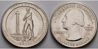1/4 $ 2013 S USA Perry´s Victory (Peace Memorial) /S - Kupfer-Nickel - ... 2,00 EUR  +  7,00 EUR shipping