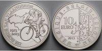 10 Euro 2013 Belgien 100. Jahrestags der Flandernrundfahrt, inkl. Etui ... 61.56 US$ 54,80 EUR  +  39.32 US$ shipping