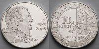 10 Euro 2013 Belgien 5. Todestags von Hugo Claus (1929 - 2008), inkl. E... 49,80 EUR  +  17,00 EUR shipping