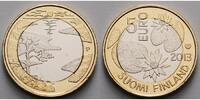 5 Euro 2013 Finnland Naturset - Sommer, (4. Münze) stgl  12.90 US$ 11,50 EUR  +  12.34 US$ shipping