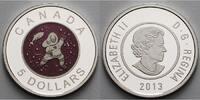 5 $ 2013 Kanada Vollmond in Lila, -Mutter & Kind/Eisfischen-Full Lila M... 134,95 EUR  + 17,00 EUR frais d'envoi