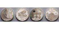 1 $ x2 1994 USA Gedenkstätte f.d.Gefallenen im Vietnamkrieg & Frauen im... 195,00 EUR  + 17,00 EUR frais d'envoi