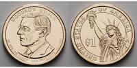 1 $ 2013 D USA Woodrow Wilson / Kupfer-Nickel, Denver vz  3,50 EUR  +  7,00 EUR shipping