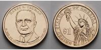 1 $ 2015 P USA Harry S. Truman/ Kupfer-Nickel, Philadelphia vz  3,50 EUR  +  7,00 EUR shipping