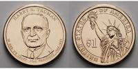1 $ 2015 D USA Harry S. Truman/ Kupfer-Nickel, Denver vz  3,50 EUR  +  7,00 EUR shipping