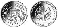 25 Euro  5x 2015 A/D/F/G/J  Deutschland 25...