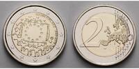 2 Euro 2015 Finnland 30 Jahre EU-Flagge 1985-2015 stgl  4,70 EUR  +  7,00 EUR shipping