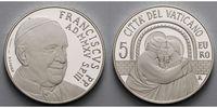 5 Euro 2015 Vatikan 14. Ordentliche Vollversammlung der Bischofssynode ... 114,50 EUR  + 17,00 EUR frais d'envoi